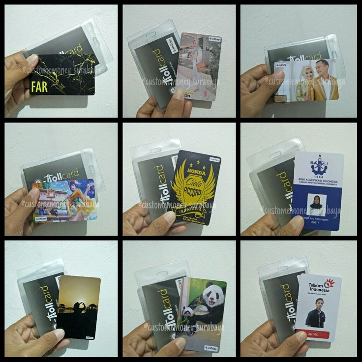 Custom E-Toll/E-Money Card • • Custom 2sisi 60.000 Custom ...