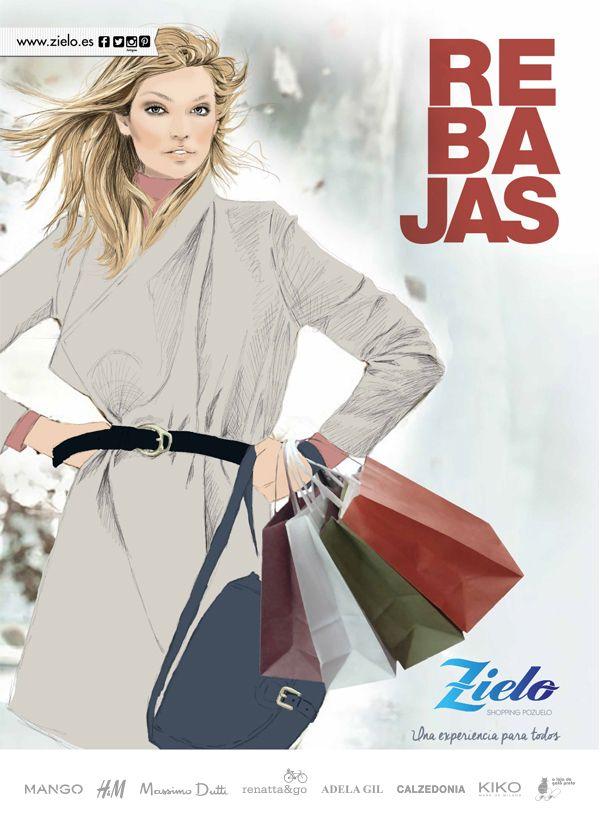 Ven a las rebajas de Zielo Shopping Pozuelo!!!