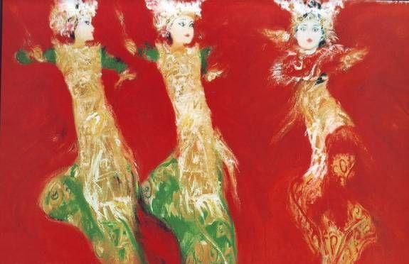 Menikmati Lukisan di Museum Nyoman Gunarsa | Wisata Bali