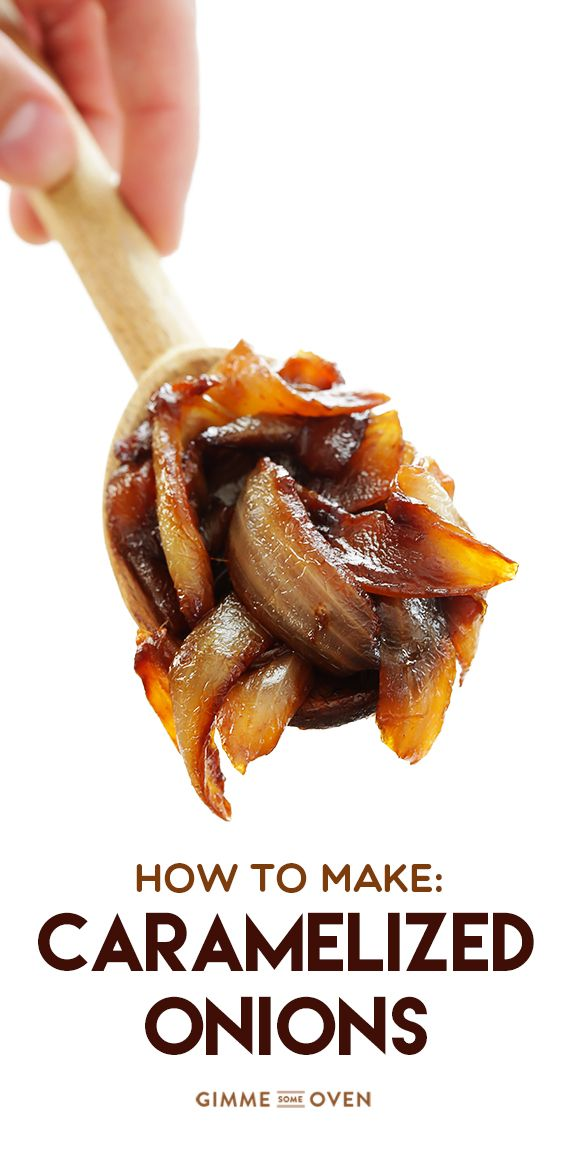 A step-by-step tutorial for how to make caramelized onions | gimmesomeoven.com