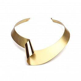 Necklace by Aleksandra Przybysz. Made of brass.