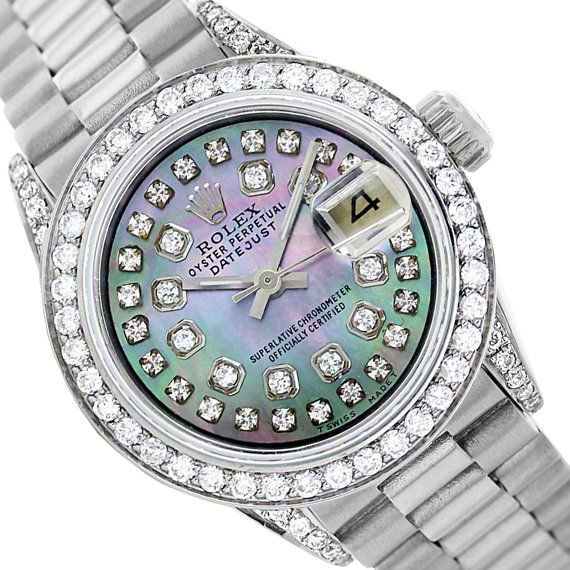 Rolex Datejust 6917 Tahitian MOP String Diamond by LsmWatchStore