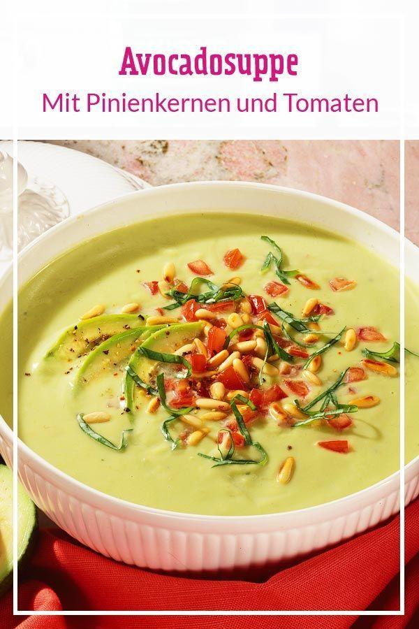So Cremig Hast Du Suppe Noch Nicht Gegessen Aus Avocado Sahne