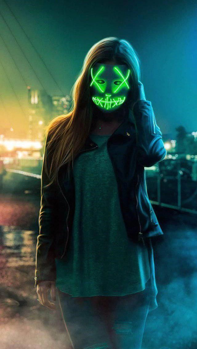 Can I Bring A Halloween Mask On A Plane In 2021 Girl Iphone Wallpaper Mask Girl Iphone Wallpaper Cool wallpapers of people wearing masks