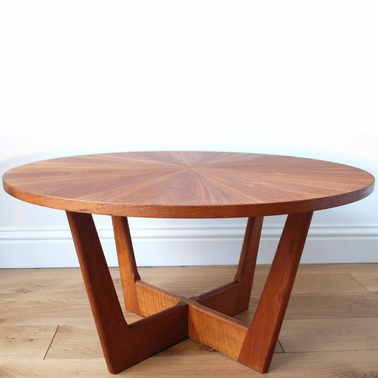 High Quality Image Of Vintage Furniture   Danish Mid Century Modern Kubus Coffee Table.