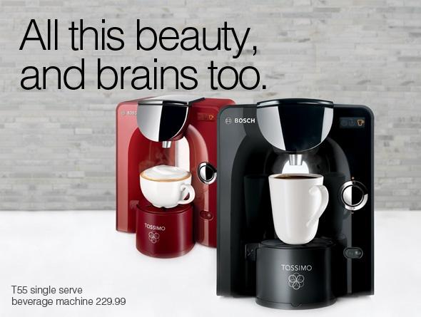 T55 Single Serve Beverage Machine #FindWhatYouLove