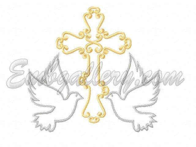 """Cross with Doves""_1 