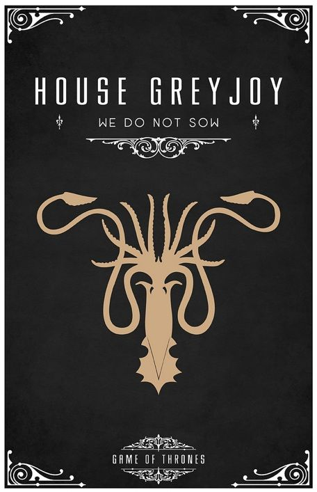 Striking Game of Thrones Posters