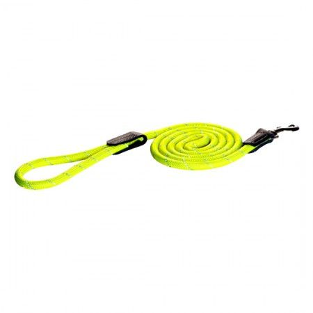 Rogz Rope Dayglo dog lead 180cm Large - Rogz dog lead Rogz dog lead large - globaldogshop.com