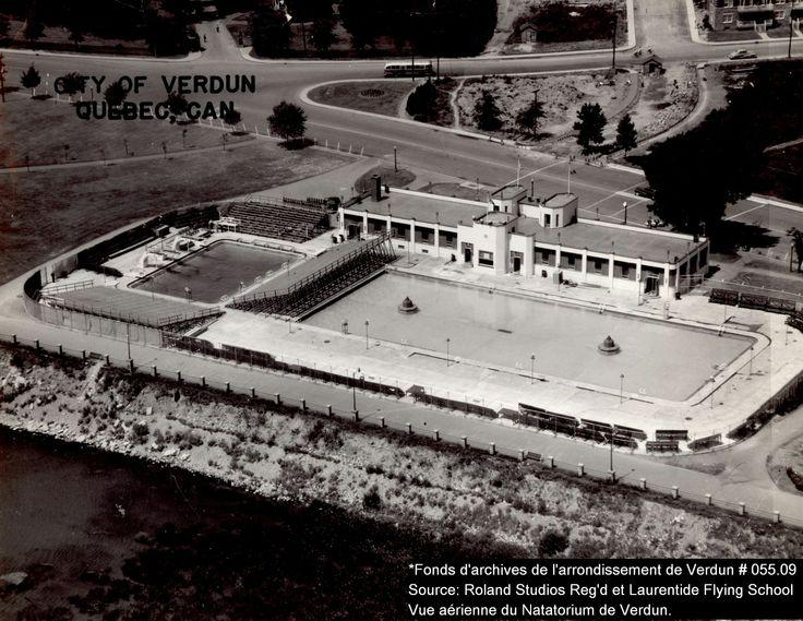 Natatorium, la plus grande piscine extérieure au Canada pendant plusieurs années  Crédit: Fonds d'archives de l'arrondissement de Verdun