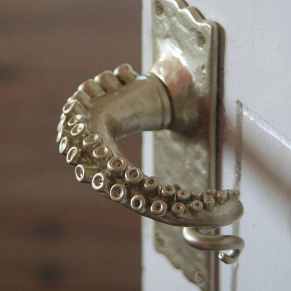 Octopus Arm Turgriffe Door Handles Door Handles Interior Octopus Decor