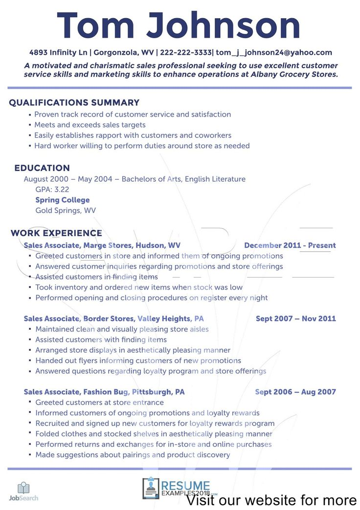 Sales Professional Resume Sample in 2020 Professional
