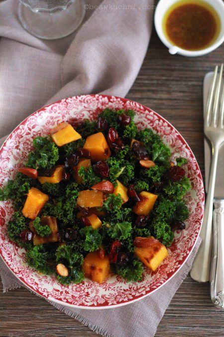 Sałatka z jarmużem, czyli zimowy superfood | Bea w Kuchni