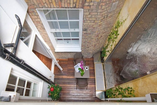 interior designer Rebecca James (ex-ballet dancer and model has made a name for herself and her company Interior Desires) -- Mayfair (London) townhouse