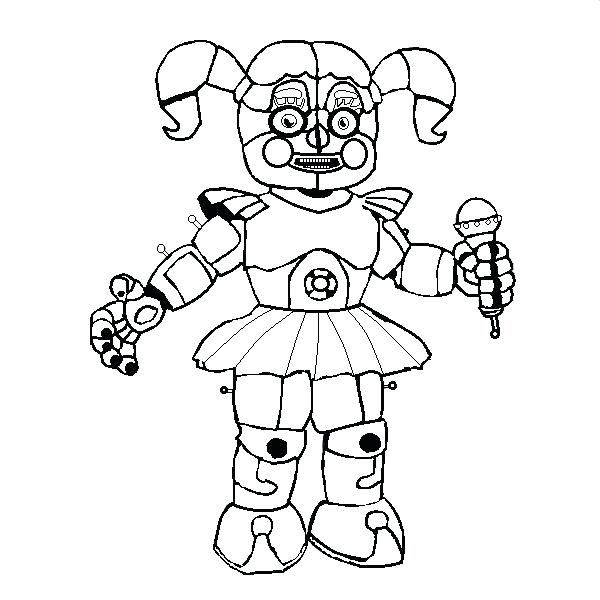 Have Fun With Fnaf Coloring Pages Fnaf Coloring Pages Coloring Pages Free Coloring Pages