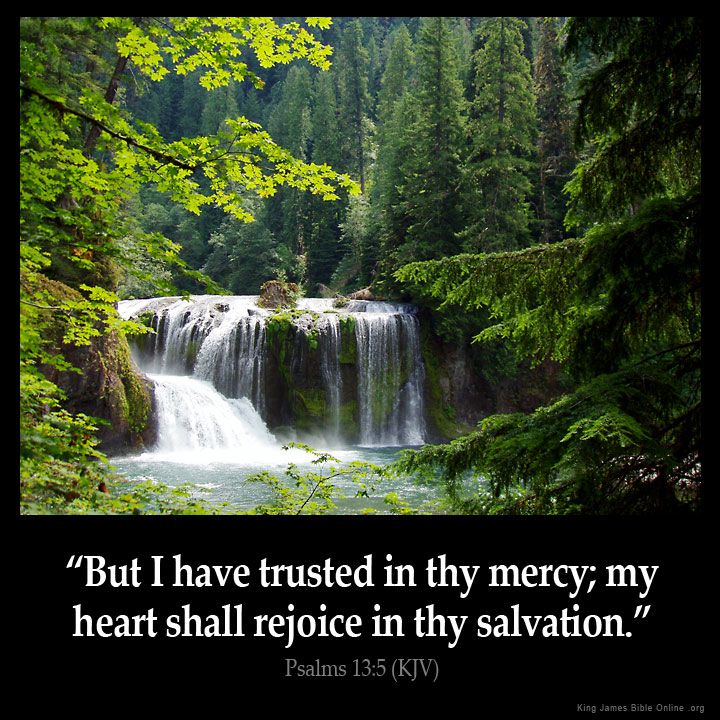 Psalms 13:5  But I have trusted in thy mercy; my heart shall rejoice in thy salvation.  Psalms 13:5 (KJV)  from King James Version Bible (KJV Bible) http://ift.tt/1IXXqSu  Filed under: Bible Verse Pic Tagged: Bible Bible Verse Bible Verse Image Bible Verse Pic Bible Verse Picture Daily Bible Verse Image King James Bible King James Version KJV KJV Bible KJV Bible Verse Pic Picture Psalms 13:5 Verse         #KingJamesVersion #KingJamesBible #KJVBible #KJV #Bible #BibleVerse #BibleVerseImage…