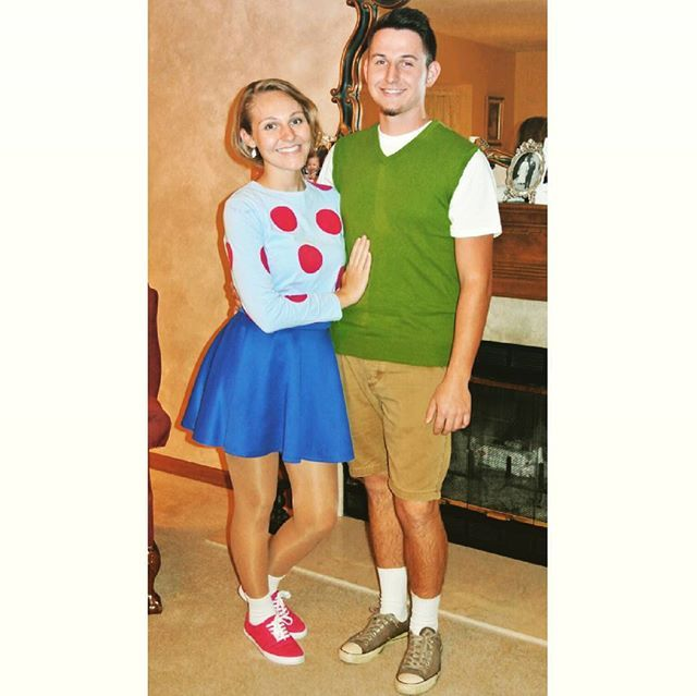 25+ Best Easy Couple Halloween Costumes Ideas On Pinterest
