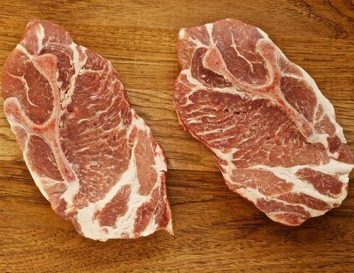 Fried pork blade steak recipe