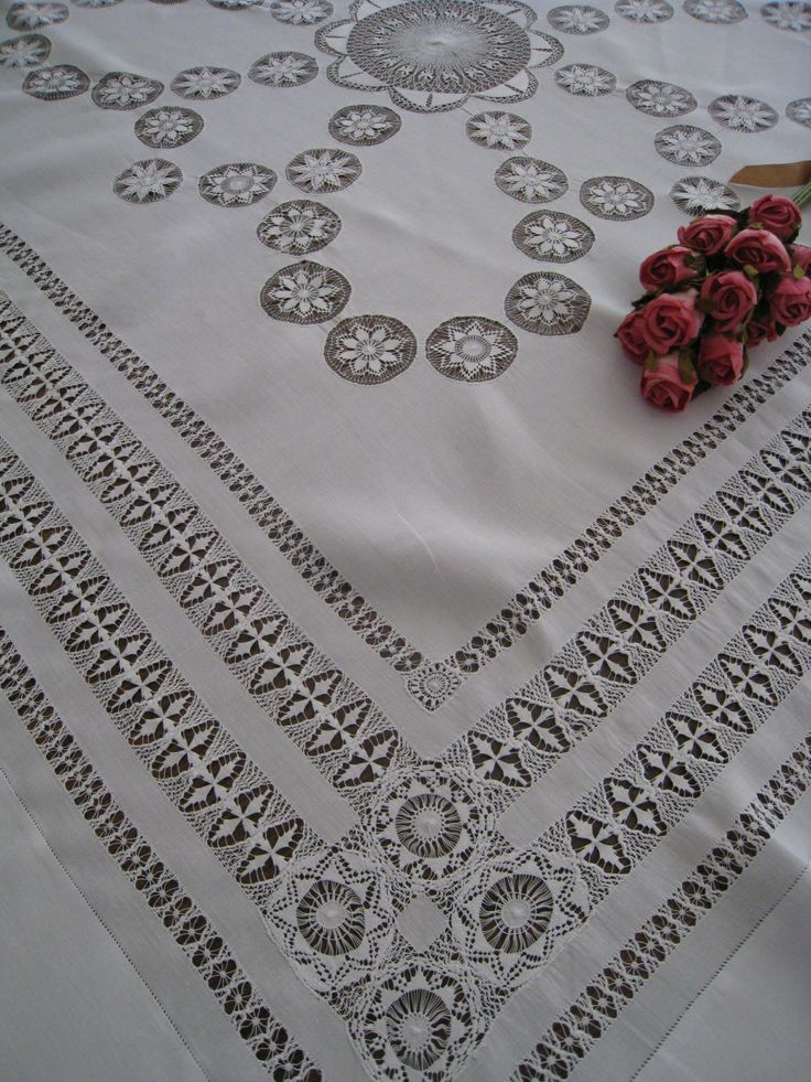 "antique ""table cloths"" 