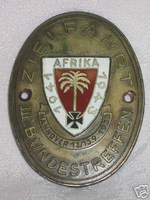 Afrika Korps, WWII
