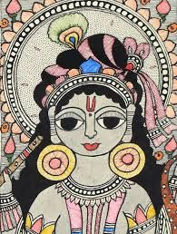 Image result for krishna madhubani paintings