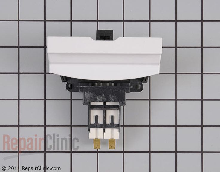 Amana Dishwasher DWA63AW. Door Hook Mfg# W10247175. RepairClinic.com #1486543 $95.15