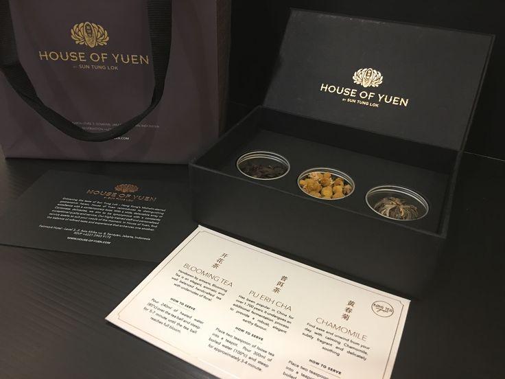Petite 3 by kaya tea organic for House of Yuen, Fairmont Hotel, Jakarta