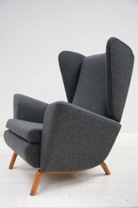 1950s Lounge Chair by Howard Keith