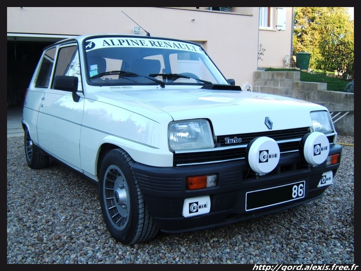 12 best renault 5 images on pinterest renault 5 retro cars and r5 alpine turbo renault 5sportclassic sciox Image collections