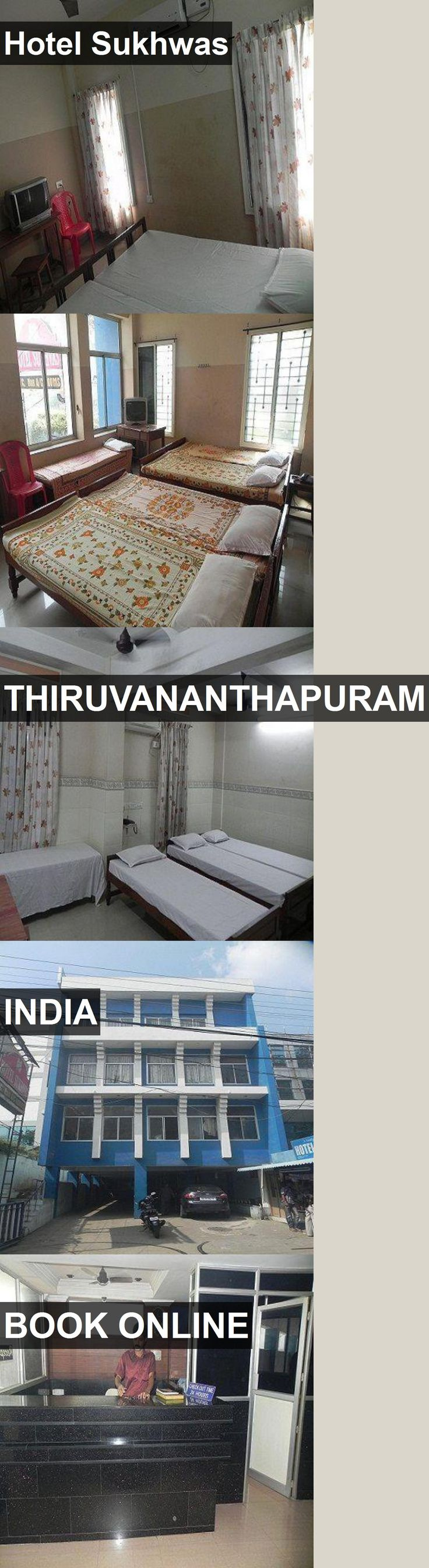 Hotel Sukhwas in Thiruvananthapuram, India. For more information, photos, reviews and best prices please follow the link. #India #Thiruvananthapuram #travel #vacation #hotel