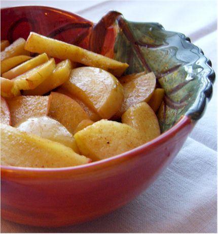Cinnamon Apple Saute - a healthy, simple dessert