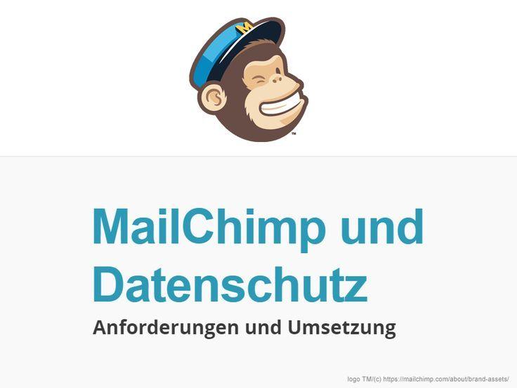 Dsgvo Mailchimp Newsletter Und Datenschutz Anleitung Mit Muster Und Checkliste E Mail Marketing Marketing Datenschutz