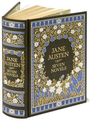 Jane Austen: Seven Novels - 'Pride & Prejudice' 'Sense & Sensibility' 'Emma' 'Mansfield Park' 'Persuasion' 'Northanger Abbey' 'Lady Susan' ...really want this from Barnes & Noble!