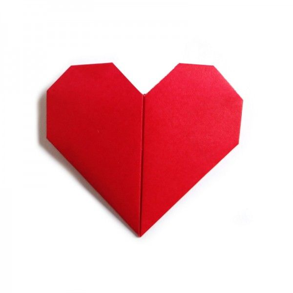 17 best images about origami on pinterest paper bags wallets and tables - Origami boite coeur ...