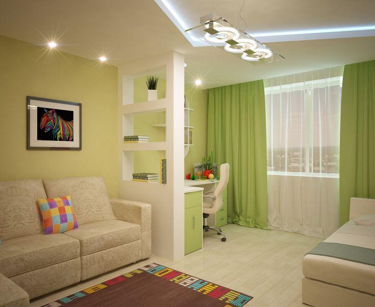Картинки по запросу интерьер жилой комнаты 18 кв м