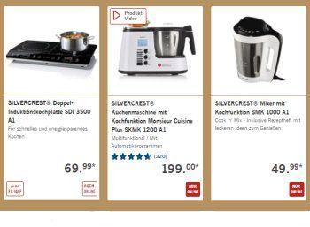 Lidl: Küchen-Spezial mit Mini-Backöfen, Induktionskochplatten und mehr https://www.discountfan.de/artikel/essen_und_trinken/lidl-kuechen-spezial-mit-mini-backoefen-induktionskochplatten-und-mehr.php Der Discounter Lidl startet ein neues Küchen-Spezial: Im Angebot sind Induktionskochplatten, Mixer mit Kochfunktionen, Waffeleisen, Mikrowellengeräte und Mini-Backöfen für weniger als 35 Euro. Lidl: Küchen-Spezial mit Mini-Backöfen, Induktionskochplatten und mehr (Bild: