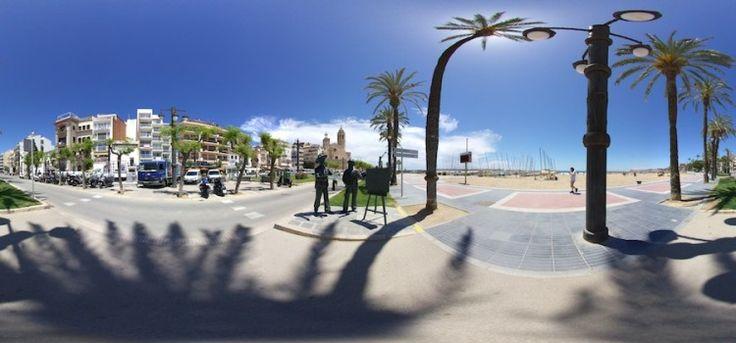 Sitges visitas virtuales 360º en Google Maps