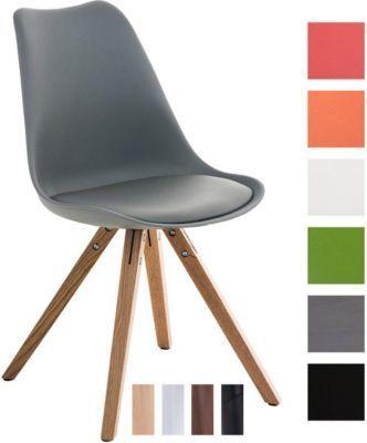 Design Retro Stuhl PEGLEG SQUARE, Rückenlehne Kunststoff, Sitz gepolstert Kunstleder-Bezug, Sitzhöhe 46 cm Jetzt bestellen unter: https://moebel.ladendirekt.de/kueche-und-esszimmer/stuehle-und-hocker/polsterstuehle/?uid=5a0e790e-c0d0-5de9-b9e2-82d2357b2cce&utm_source=pinterest&utm_medium=pin&utm_campaign=boards #kueche #polsterstuehle #esszimmer #eckbänke #hocker #stuehle