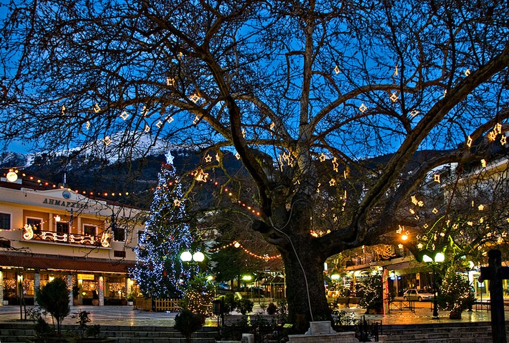 CHRISTMAS IN KARPENISI- GREECE