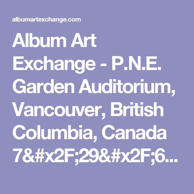 Album Art Exchange - P.N.E. Garden Auditorium, Vancouver, British Columbia, Canada 7/29/66 by The Grateful Dead - Album Cover Art
