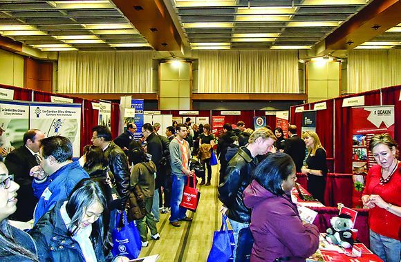 2014 Study and Go Abroad Fairs Open Up a World of Opportunities  If you've got dreams that include both travel and study, mark your calendars! The 2014 Study and Go Abroad Fair begins its spring schedule this month, appearing in four major Canadian cities.  Read more: http://studymagazine.com/2014/02/21/2014-study-and-go-abroad-fairs/  #jobfair , #studyabroad, #studyabroadprogram , #career, #employment