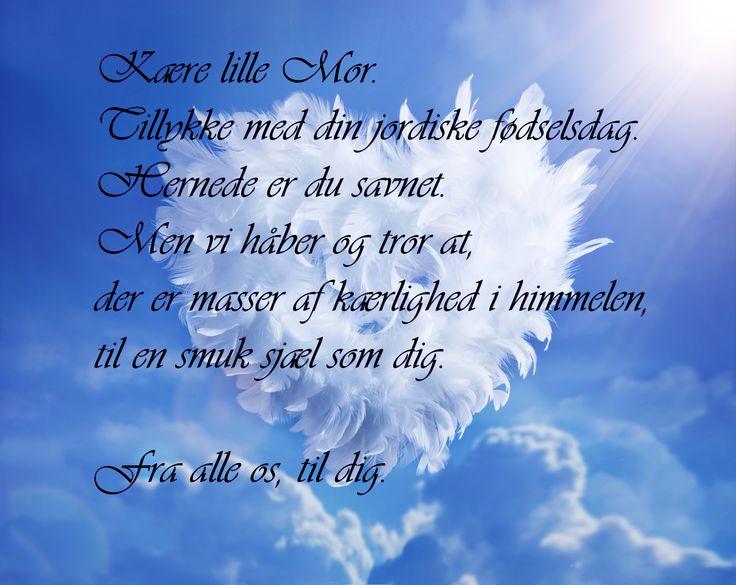 En hilsen til himmelen. Mor