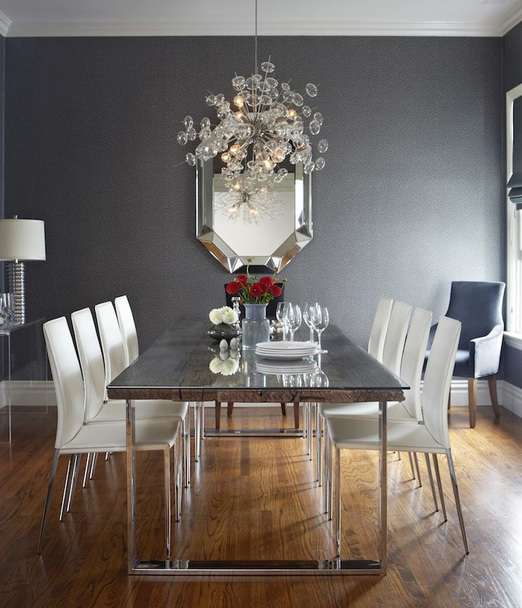 Interior By Jennifer Jones Of Niche Interiors, San Francisco CA | Bernhardt  Henley Dining Table