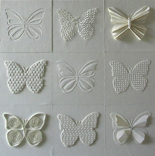 1000 images about butterfly art on pinterest shops for White paper butterflies