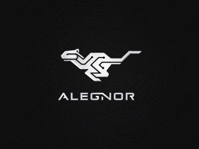 Alegnor / Some Extremely Creative Animal Logo Designs For Inspiration / www.designbolts.com / cougar