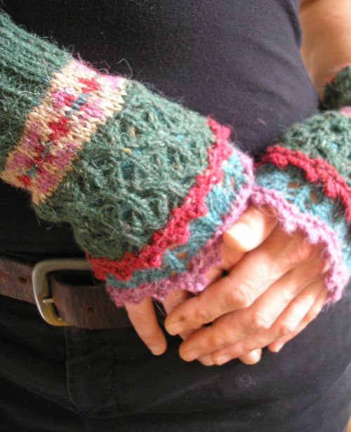 329 best Fingerless Gloves / Stulpen images on Pinterest ...