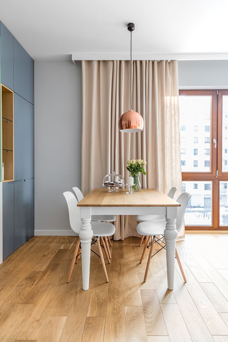 Cozy dining area with natural colors.
