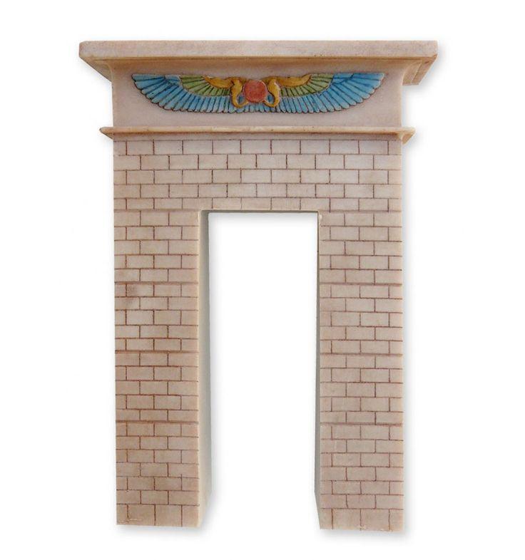 Puerta de Tebas | Arte egipcio | Arquitectura simbólica