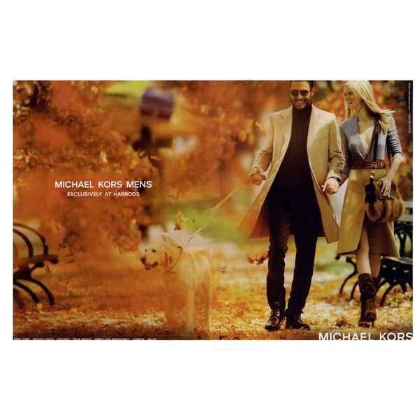 Michael Kors Ad Campaign Fall/Winter 2010 Shot #2 ❤ liked on Polyvore featuring ad campaign, models and noah mills