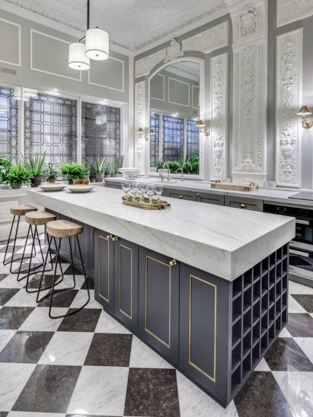 great kitchen design by Barlow and Barlow